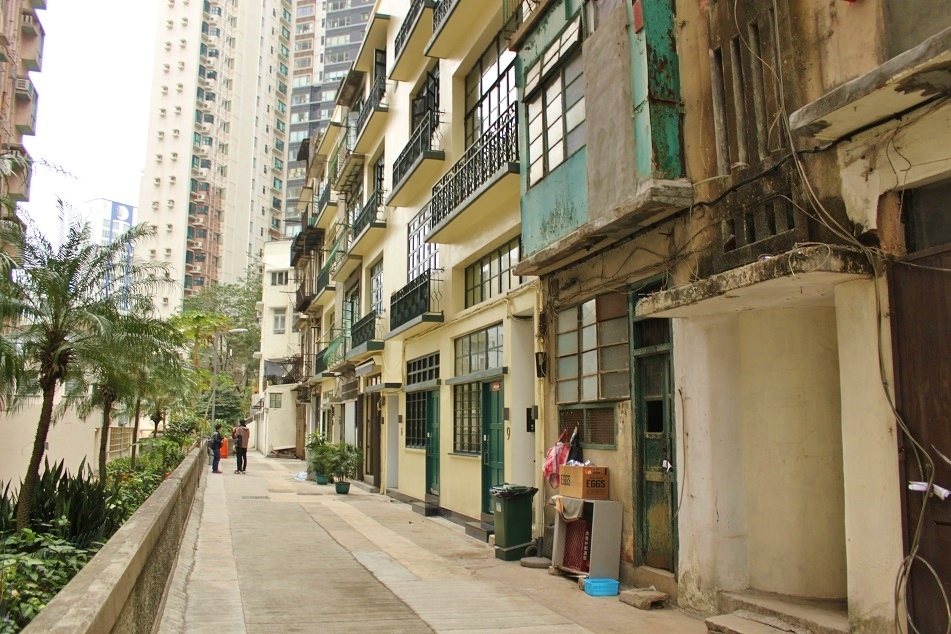 Renovated Tenements of Wing Lee Street