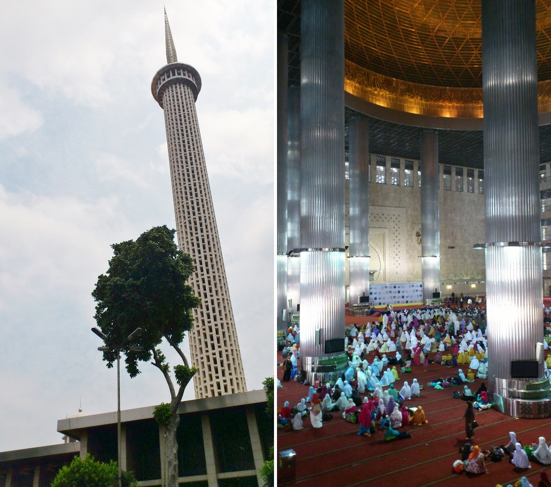 Istiqlal Mosque, In and Out