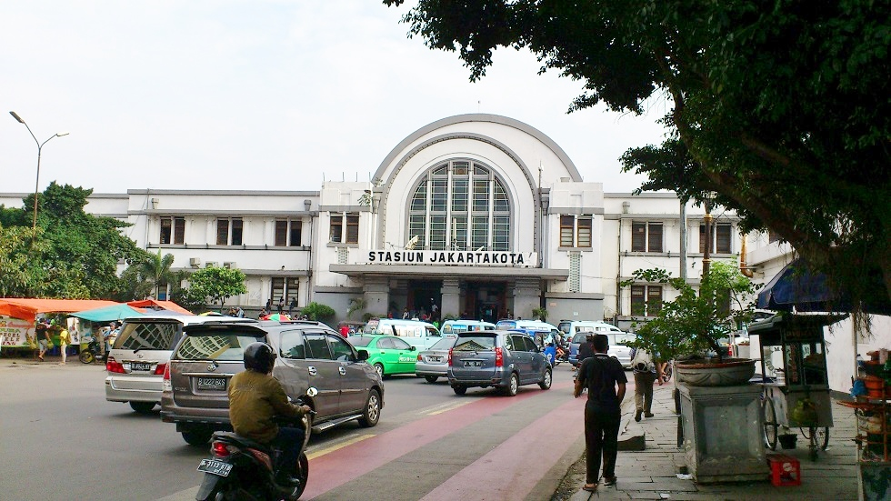 The Art Deco Jakartakota Train Station