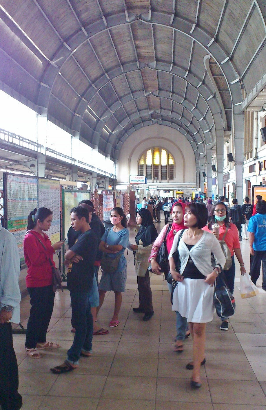 Inside the Station
