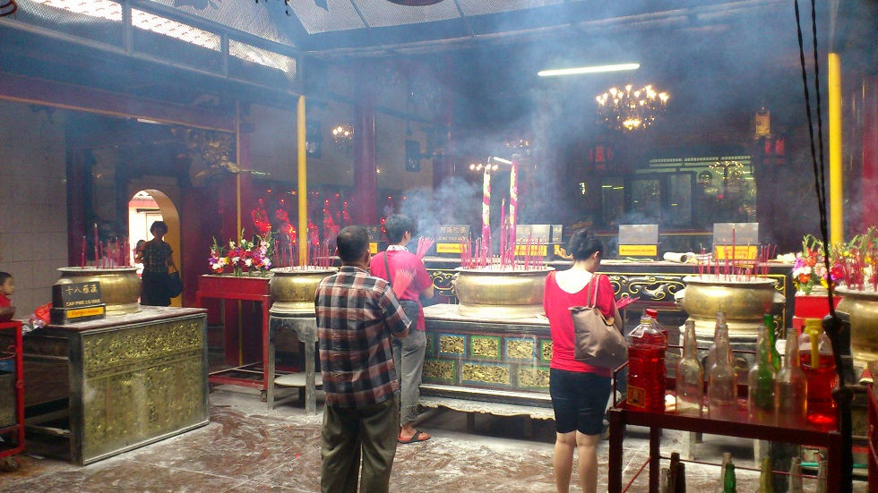 Inside Kim Tek Ie Temple