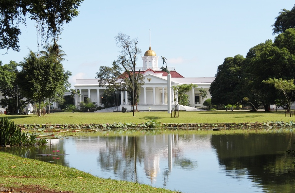 One of Indonesia's SIx Presidential Palaces