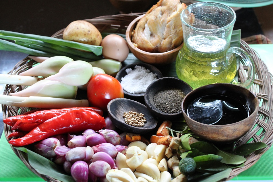 Fresh Ingredients to Make Hearty Dinner