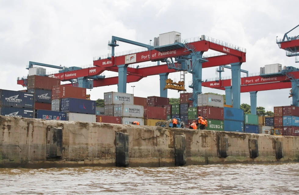 Palembang's Inland Container Port