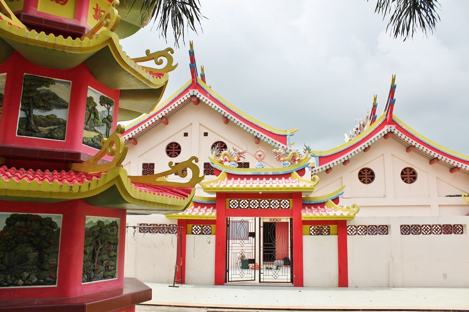 A Chinese Temple at Pulau Kemaro (Kemaro Island)