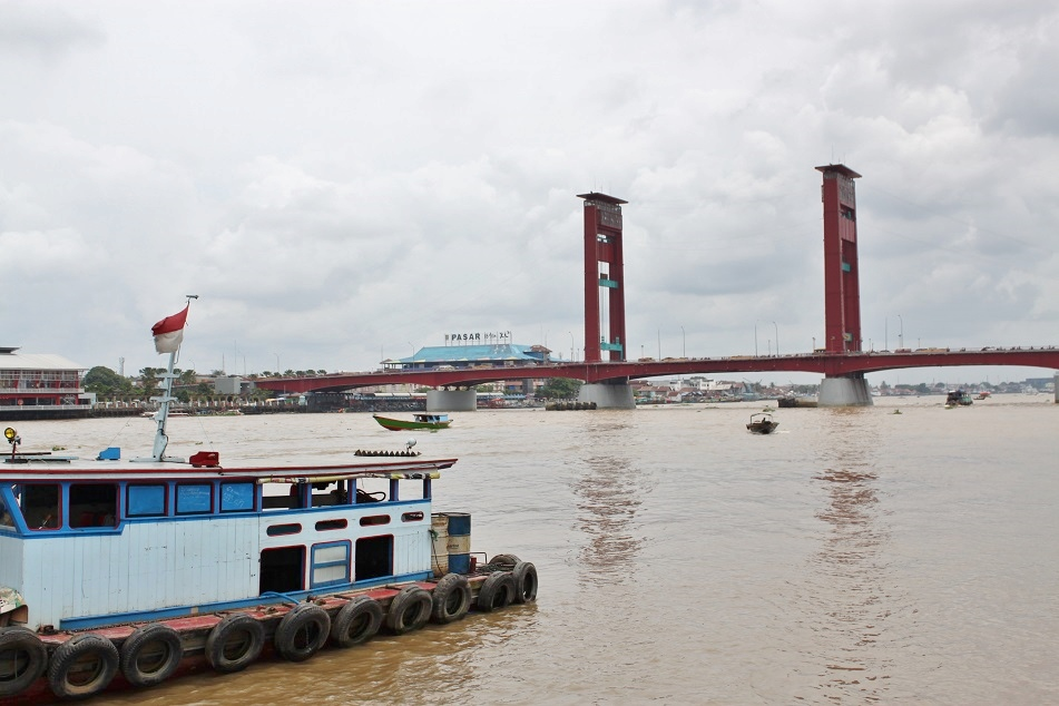 The Iconic Ampera Bridge
