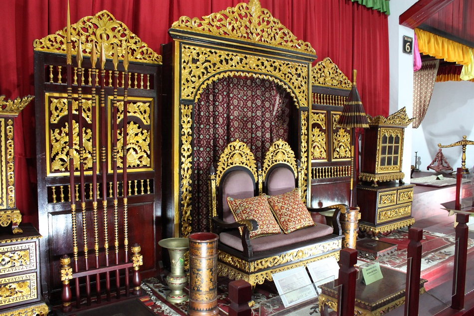 Throne Hall inside the Museum