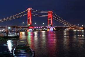 Ampera Bridge at Night