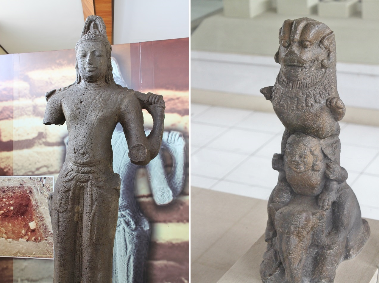 Relics of the Kingdom of Sriwijaya
