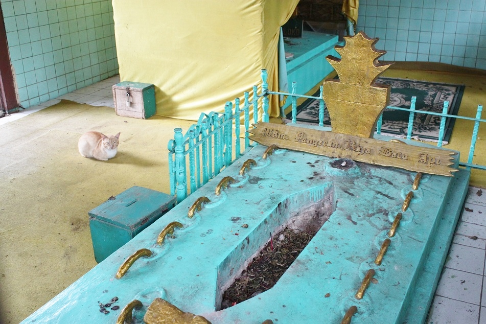 One of the Purported Tombs of Sriwijayan Royal Families