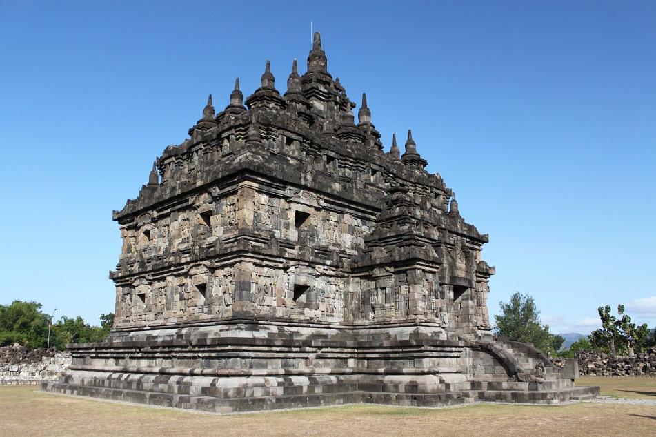Plaosan, A Buddhist Temple Complex Near Prambanan