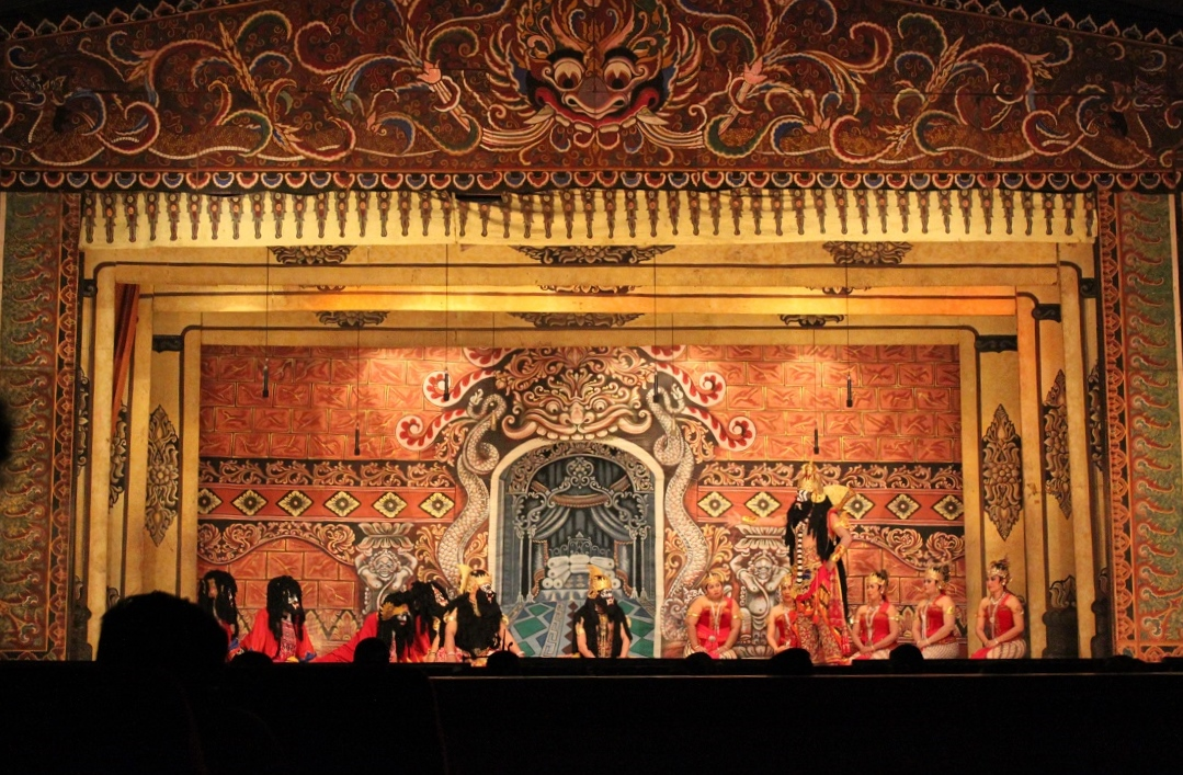A Wayang Orang Performance