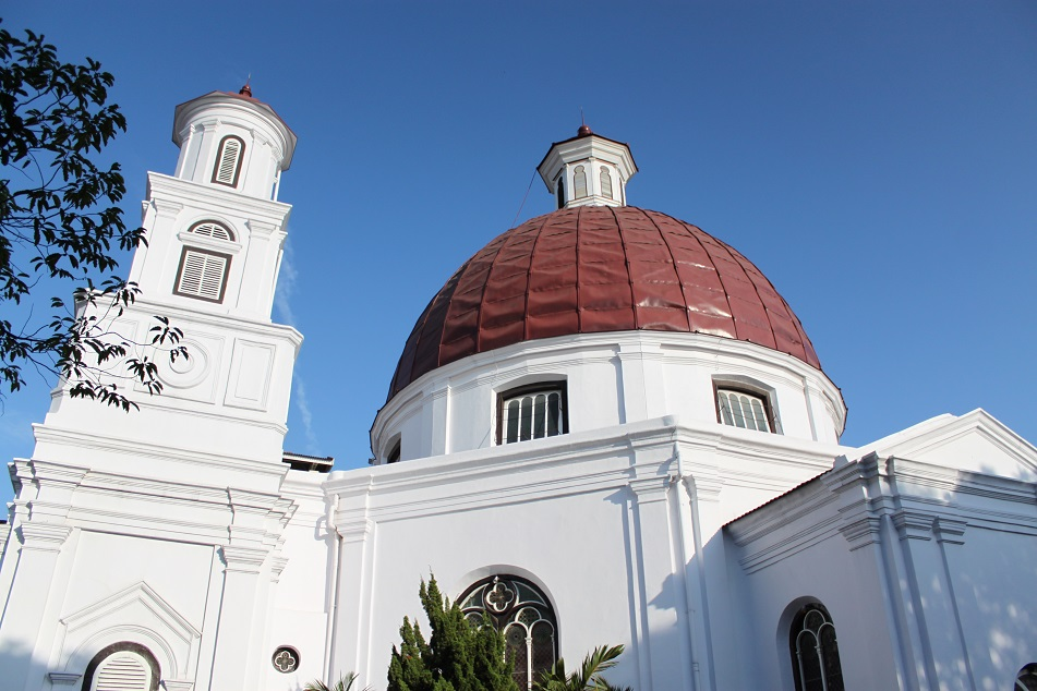 Blenduk Church, An 18th Century Dutch Colonial Church in Semarang
