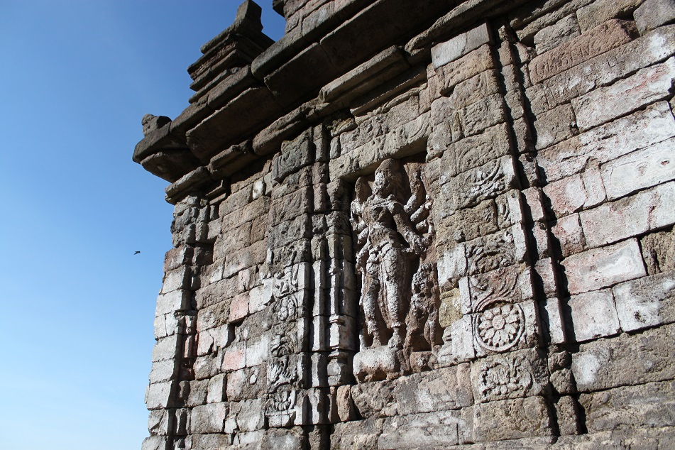 A Relief at Gedong Songo, An 8th Century Hindu Temple Compound Near Semarang