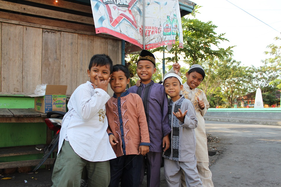 Cheerful Boys in Banda