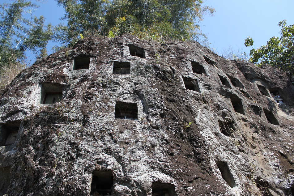 Lemo, A Torajan Stone Burial Cliff