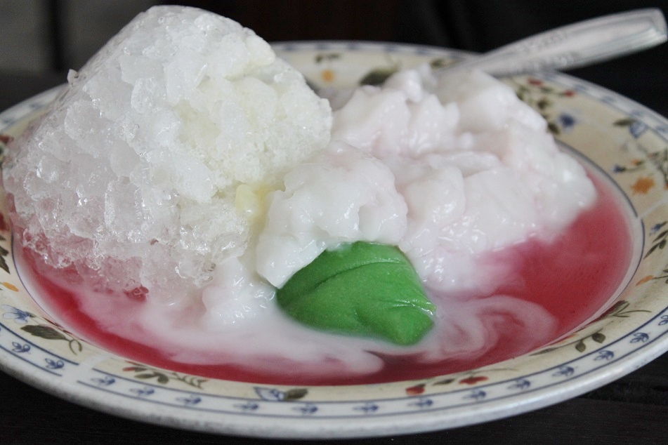 Es Pisang Ijo, A Dessert from Makassar