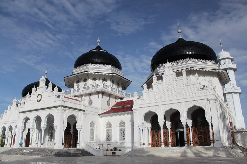 Baiturrahman Grand Mosque in Banda Aceh