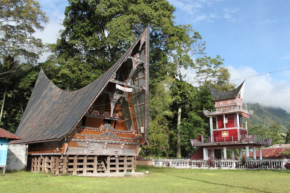 A Toba Batak Traditional House