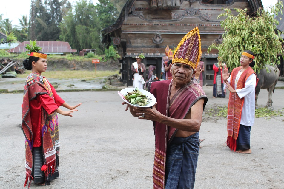 Traditional Dance in the Village of Simanindo