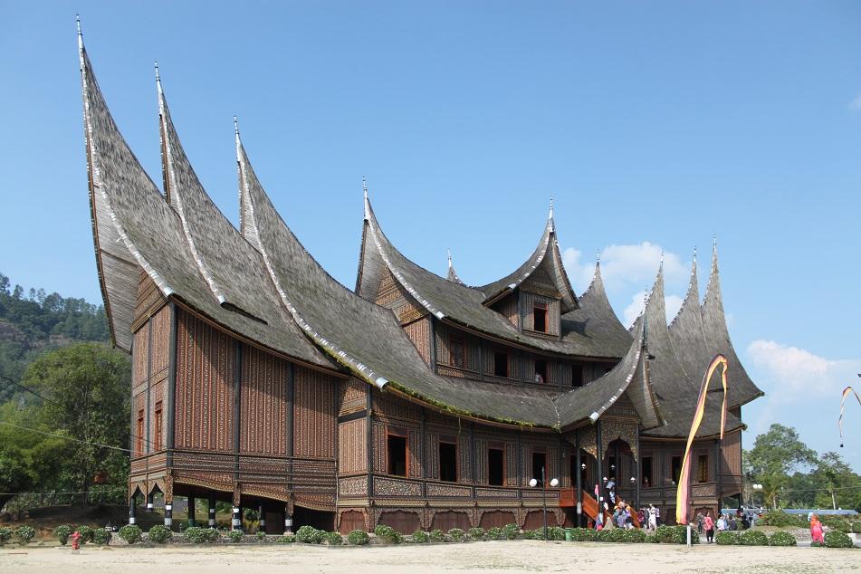 Istano Basa Pagaruyung (Pagaruyung Palace) in Batusangkar