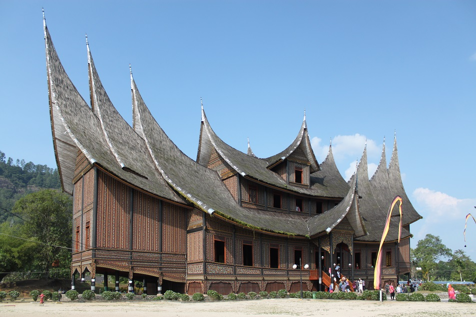 Istano Basa Pagaruyung (Pagaruyung Palace) in Batusangkar