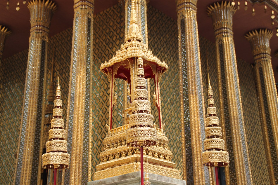 Ornate Details of Wat Phra Kaew