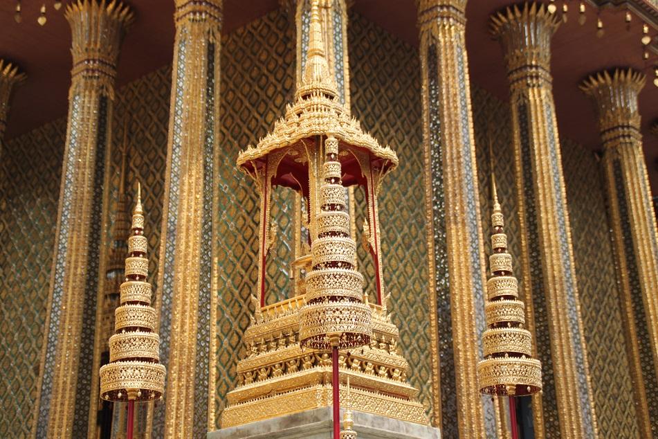 Ornate Details of Wat Phra Kaew