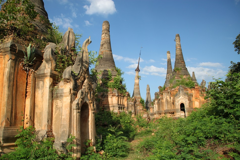 Group of Ruined Temples at Indein
