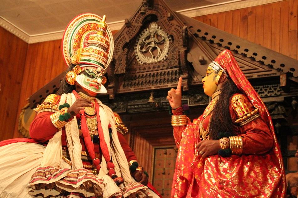 Kathakali Performance, Kochi