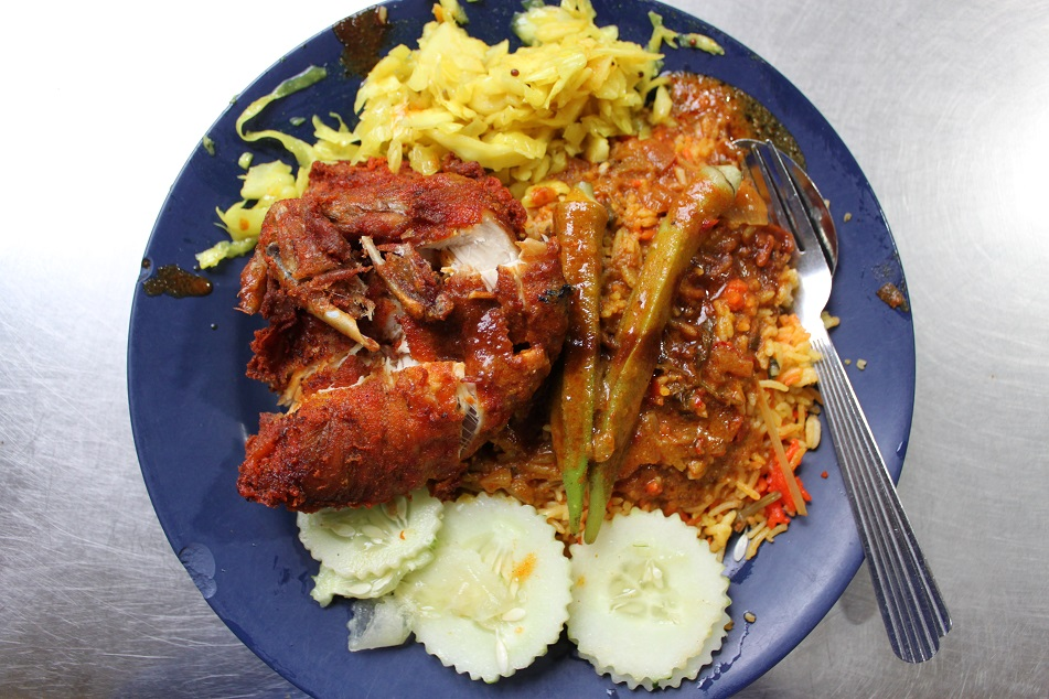 Nasi Kandar, A Taste of India in Penang