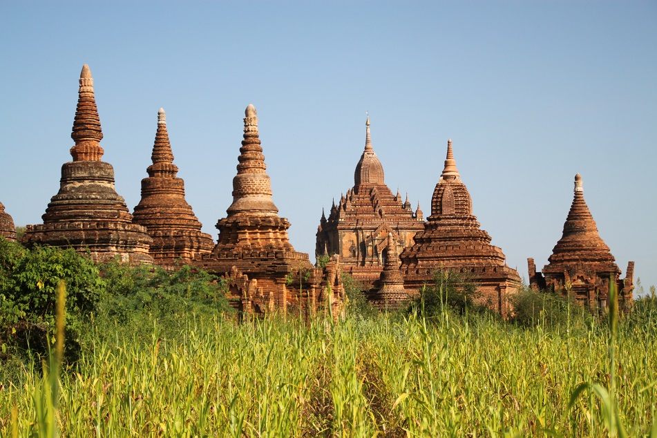 Htilominlo and Smaller Temples, Bagan