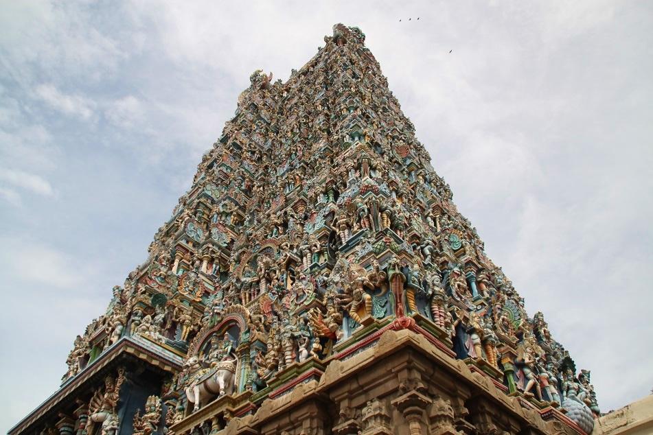 Madurai's Meenakshi Amman Temple
