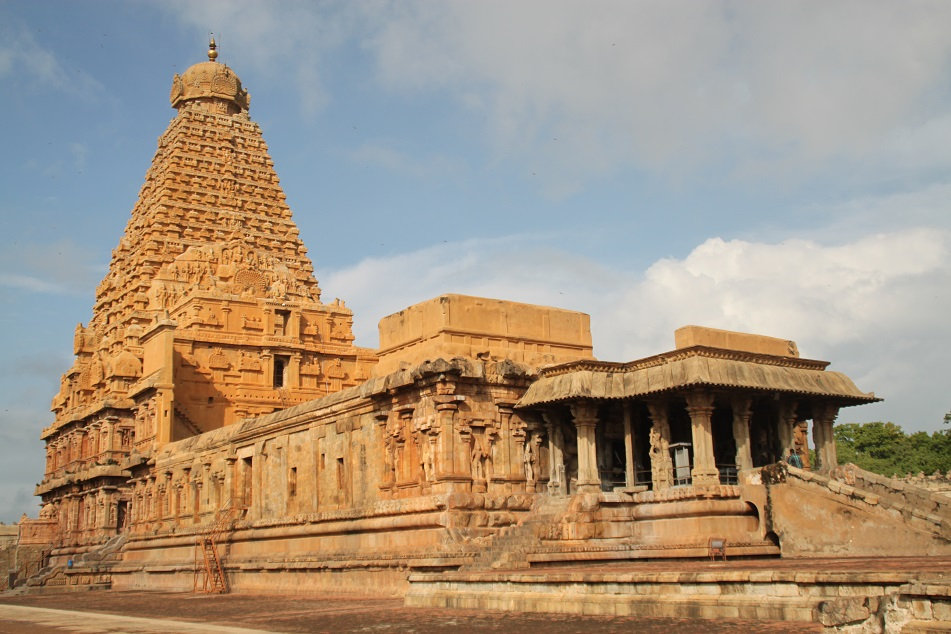 The 11th Century Brihadeeswarar Temple, Thanjavur