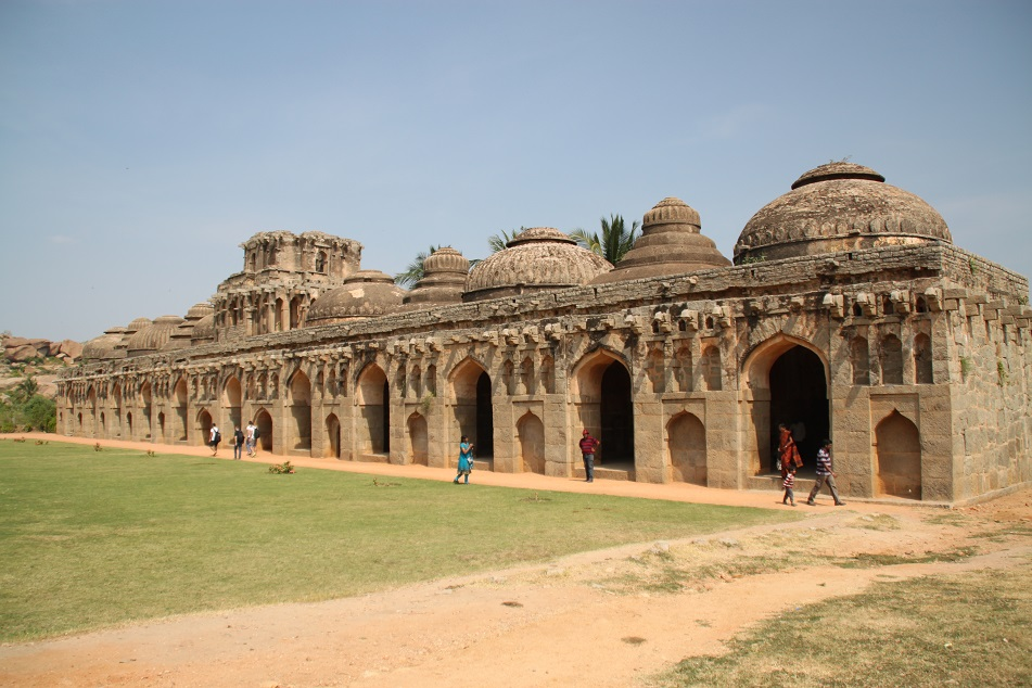 The Elephant Stable, Hampi