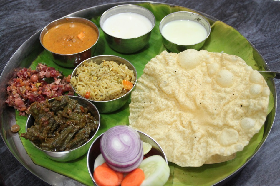 Vegetarian Thali Set, Madurai