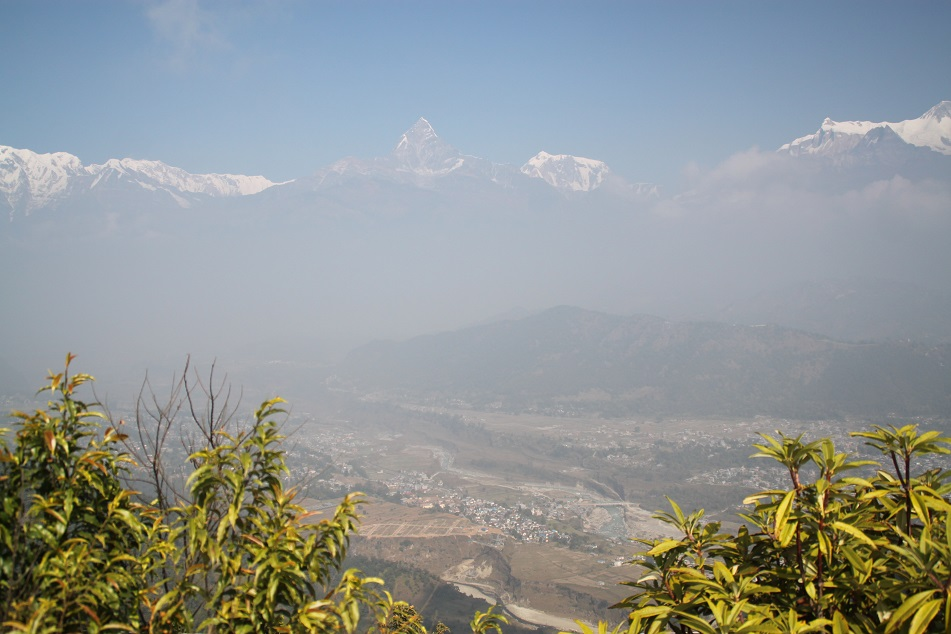 View of the Annapurna Range from Sarangkot