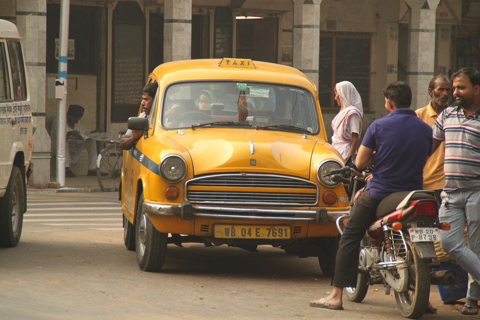 Kolkata's Iconic Ambassador Taxi