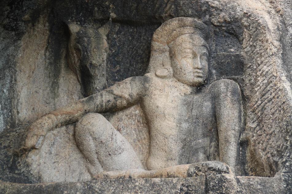 Man and Horse, Isurumuniya