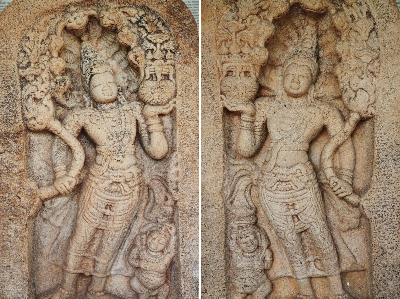 Nagaraja Guardstones, Abhayagiri Museum