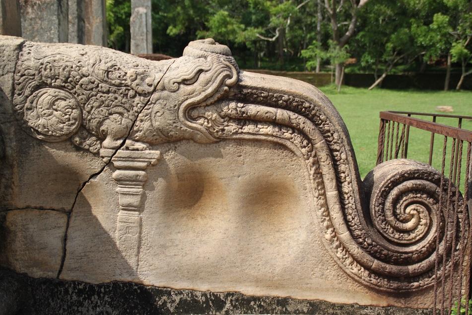 Korawak Gal/Makara Gal near Abhayagiri Dagaba