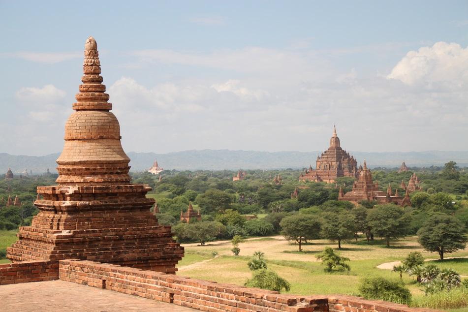 View of Bagan Plain from Pyathadar