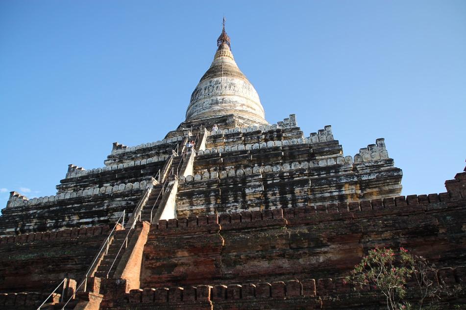 Shwesandaw, An 11th Century Pagoda