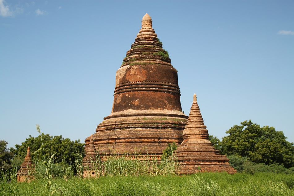 One of the Older Shrines of Bagan