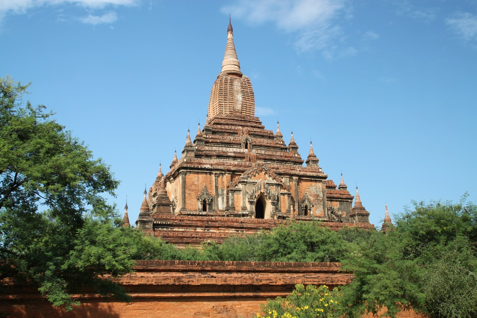 Another Angle of the 12th Century Temple