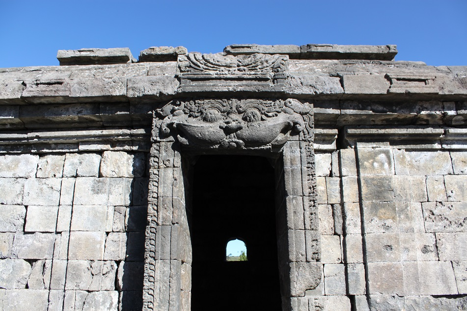 Kala above the Entrance of Candi Semar