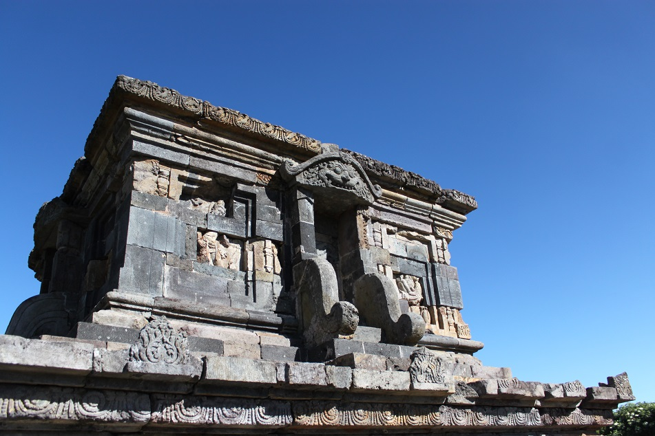 The Facade of Candi Setiyaki