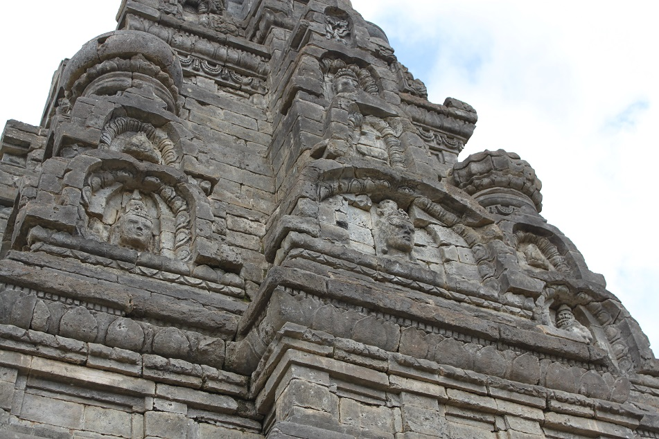 Sculptures of Candi Bima