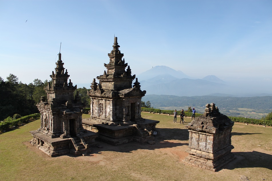 Candi Gedong III Group of Temples
