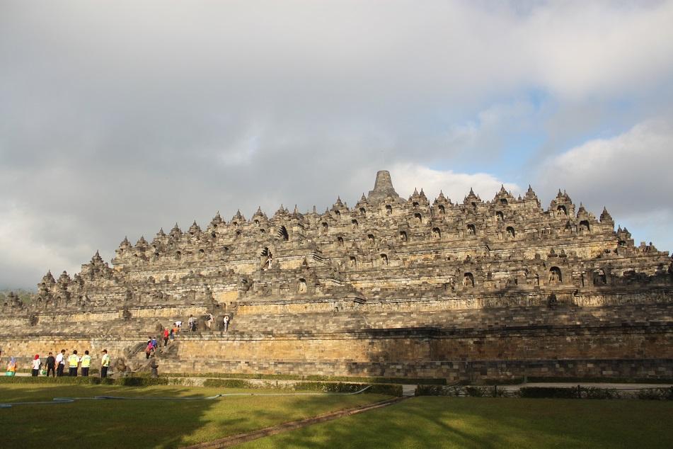 Borobudur, East Facade